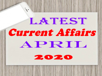 Current Affairs Pakistan 2020