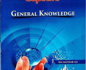 ILMI-One-Liner-Capsule-General-Knowledge-PCSPMS-By-Rai-Mansab-Ali