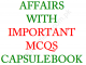 PAKISTAN AFFAIRS WITH IMPORTANT MCQS CAPSULE BOOK 2020